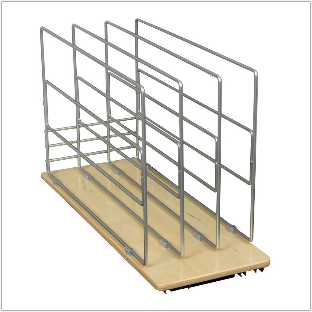Cabinet Roll Out Tray Divider