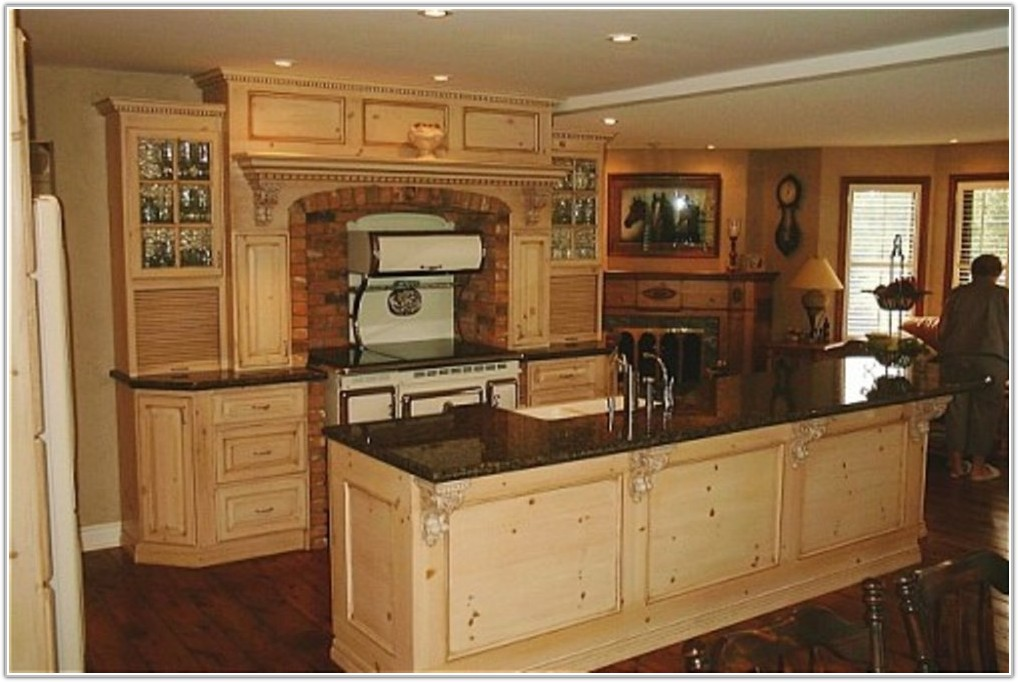 Cheap Unfinished Pine Kitchen Cabinets