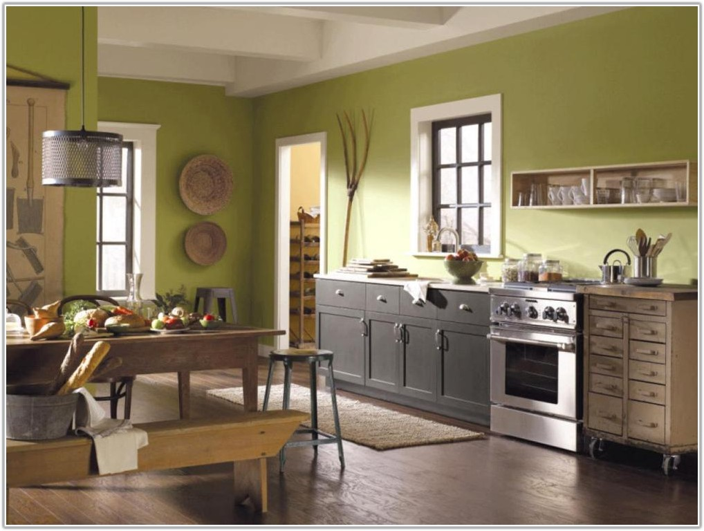 Colors To Paint Kitchen Cabinets Pictures