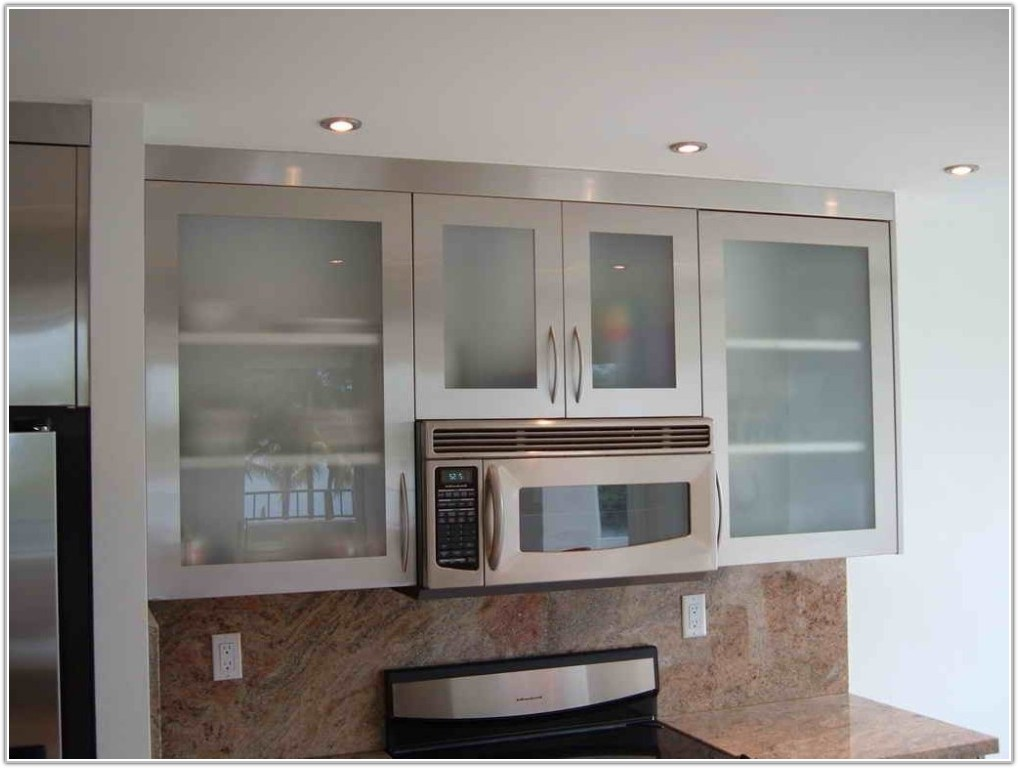 Convert Kitchen Cabinet Doors Glass Inserts