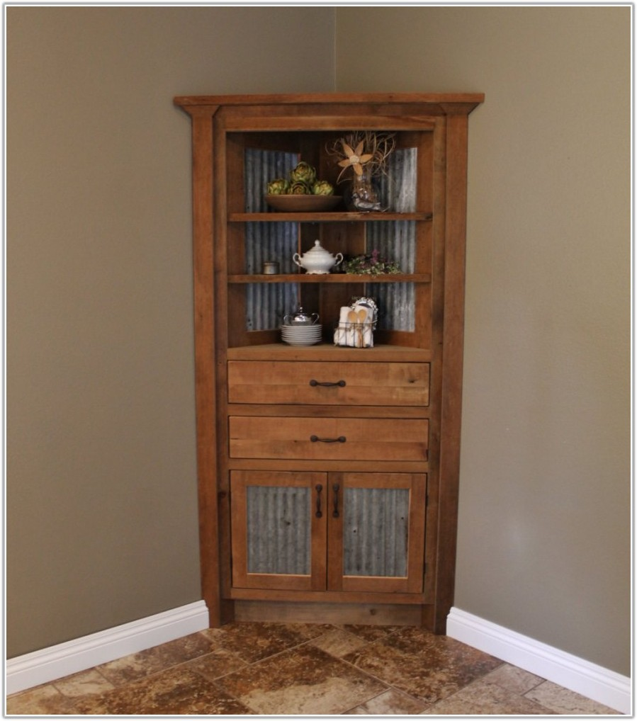 Corner Dining Room Wine Cabinet