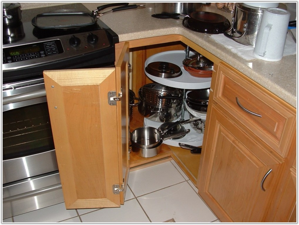 Corner Kitchen Cabinets Storage Solutions
