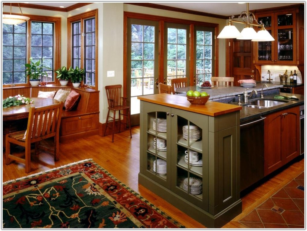 Craftsman Mission Style Kitchen Cabinets