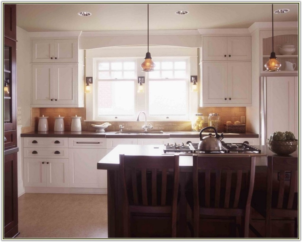 Craftsman Style Kitchen Cabinets White