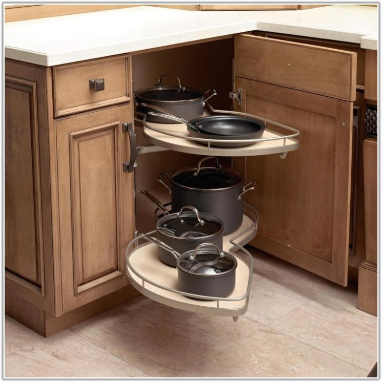 Custom Kitchen Cabinet Storage Solutions