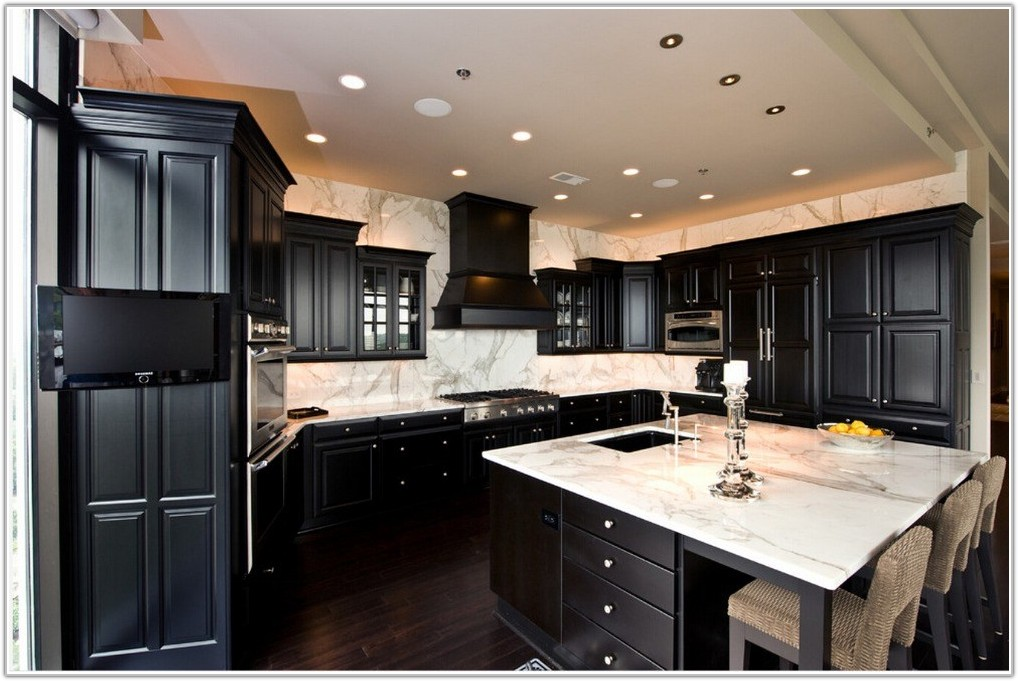 Custom Made Solid Wood Kitchen Cabinets