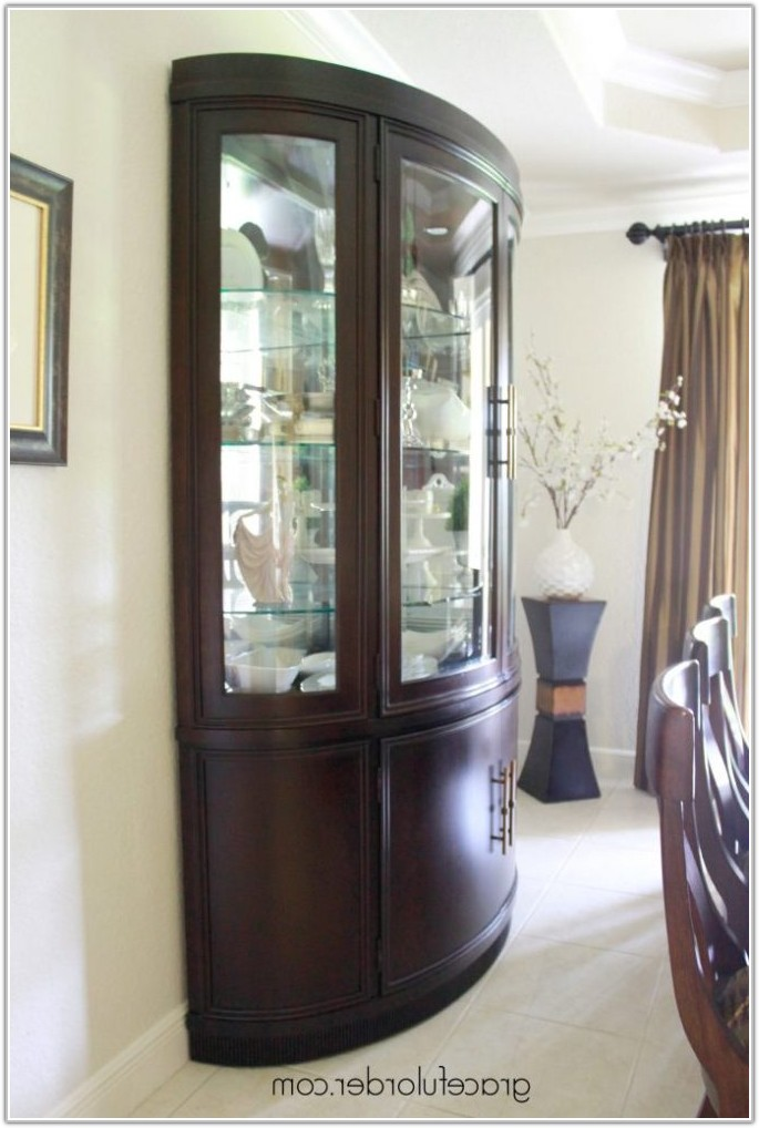 Dining Room Furniture Corner China Cabinets