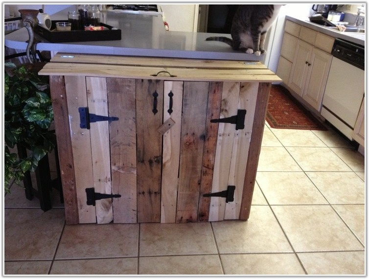 Diy Kitchen Trash Can Cabinet