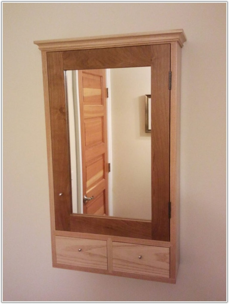 Diy Medicine Cabinet Mirror Door