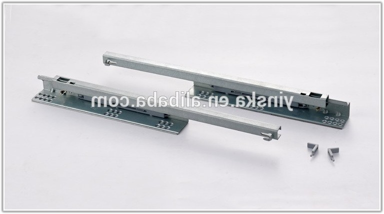 Drawer Slides Soft Close Bottom Mount