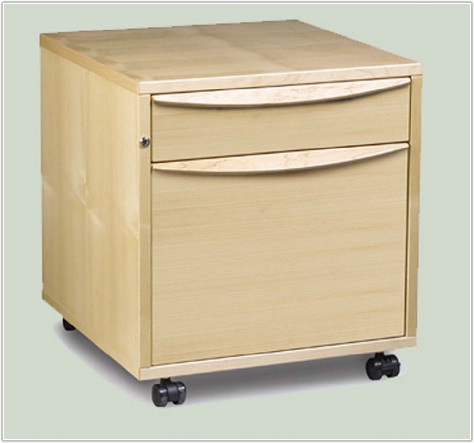 File Cabinet 2 Drawer Wheels