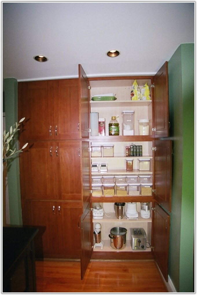 Floor To Ceiling Pantry Cabinets