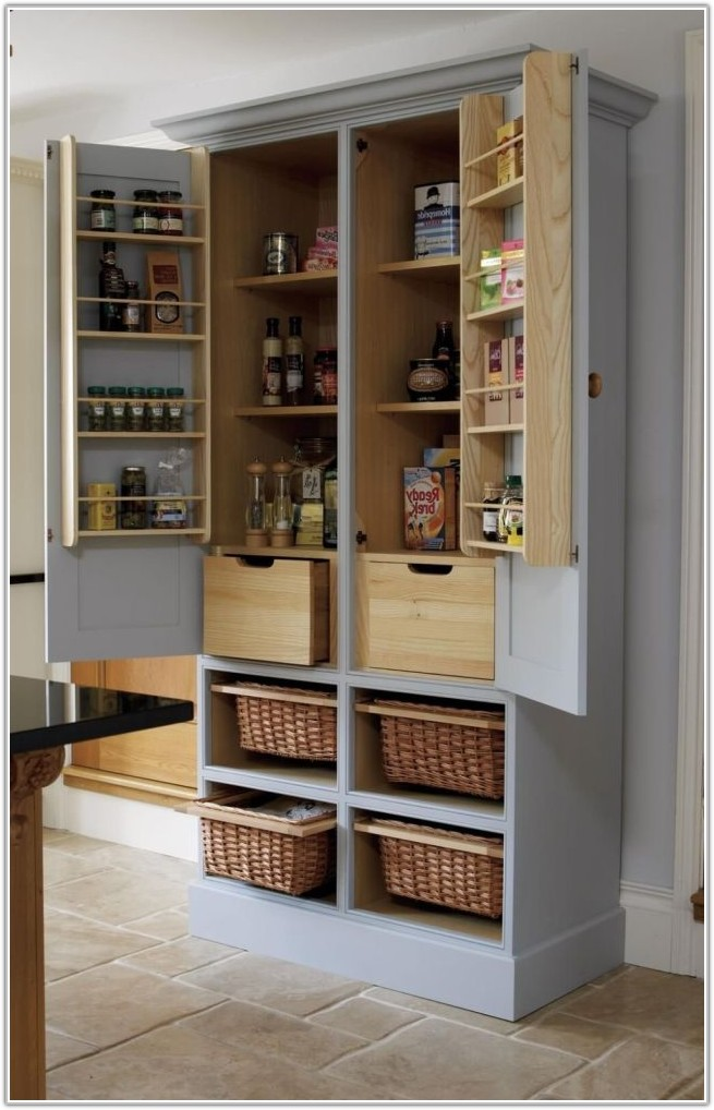 Free Standing Corner Cabinet For Kitchen