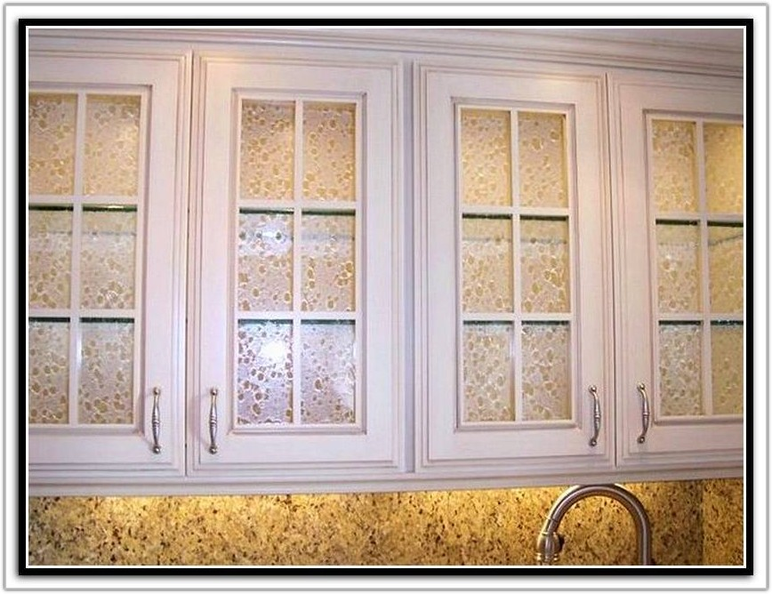Frosted Glass Inserts For Kitchen Cabinet Doors