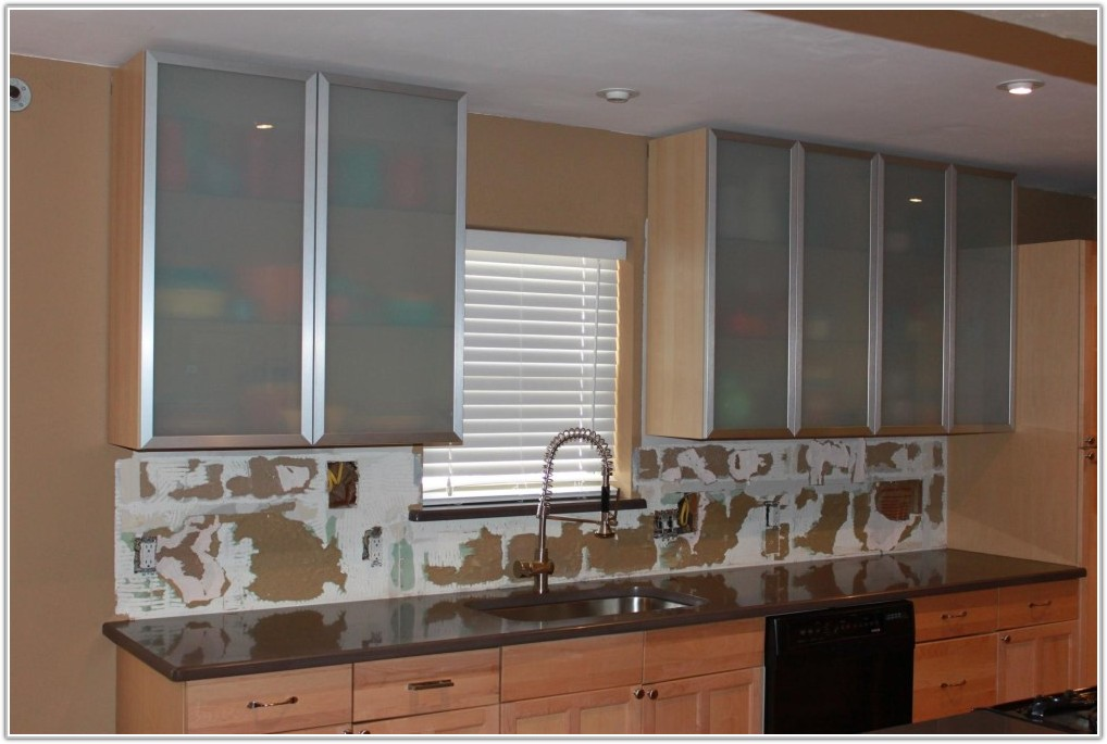 Glass Kitchen Cabinet Doors Ikea
