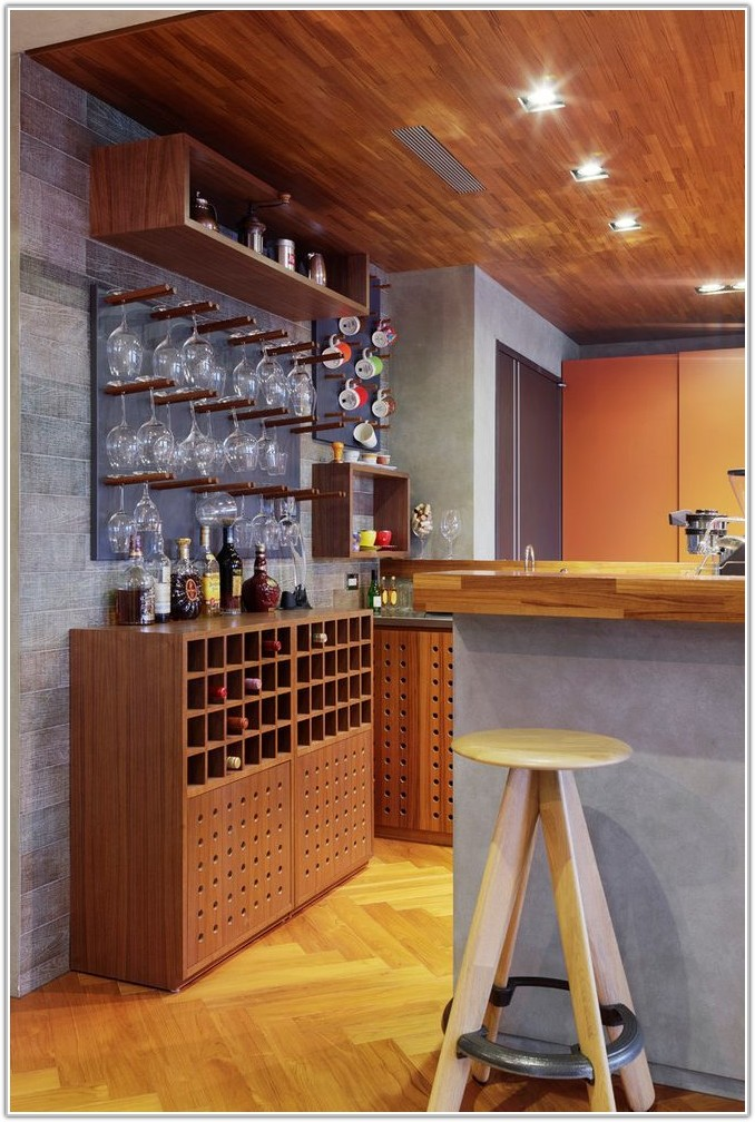 Home Bar Wine Glass Rack