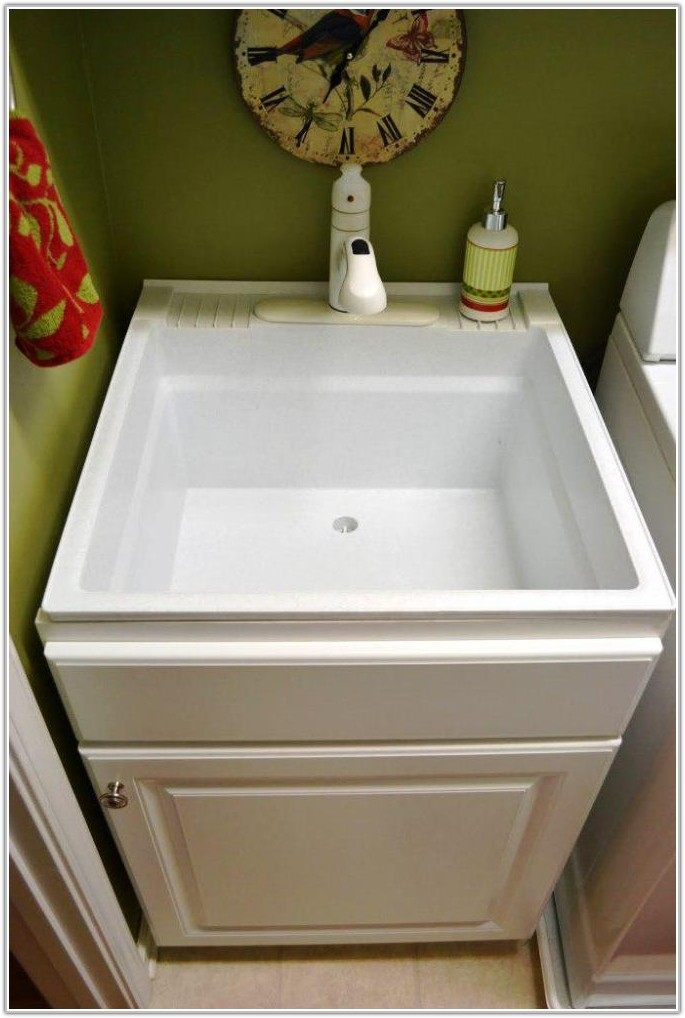 Home Depot Laundry Room Sink Cabinet