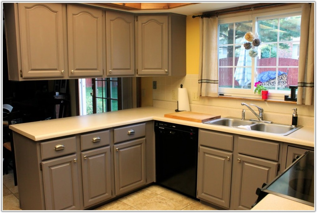 Home Depot Painting Kitchen Cabinets