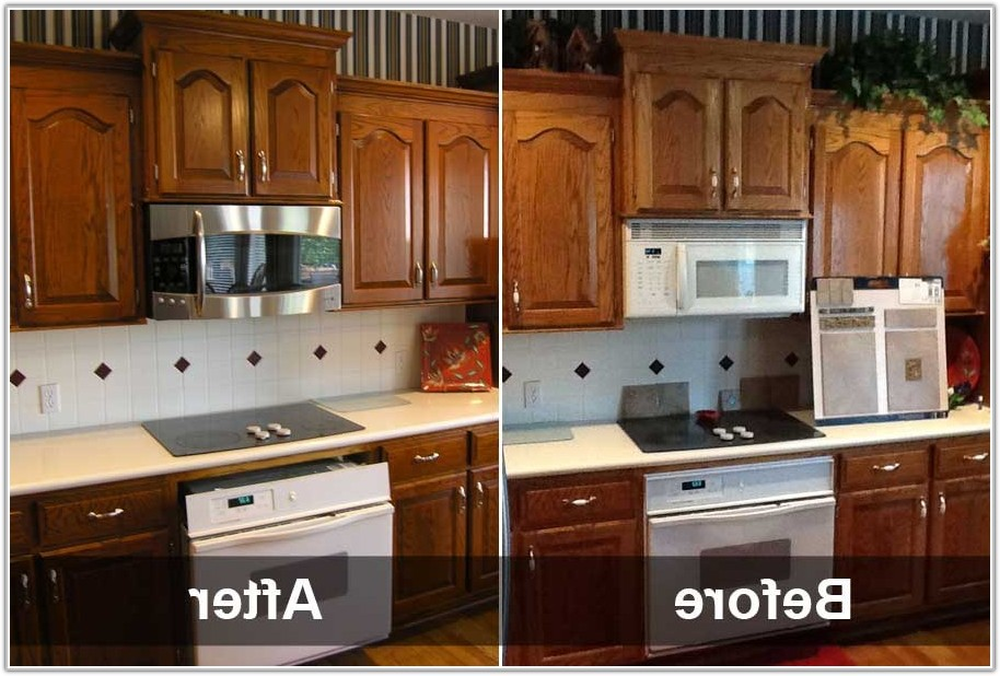 Ideas To Refinish Kitchen Cabinets