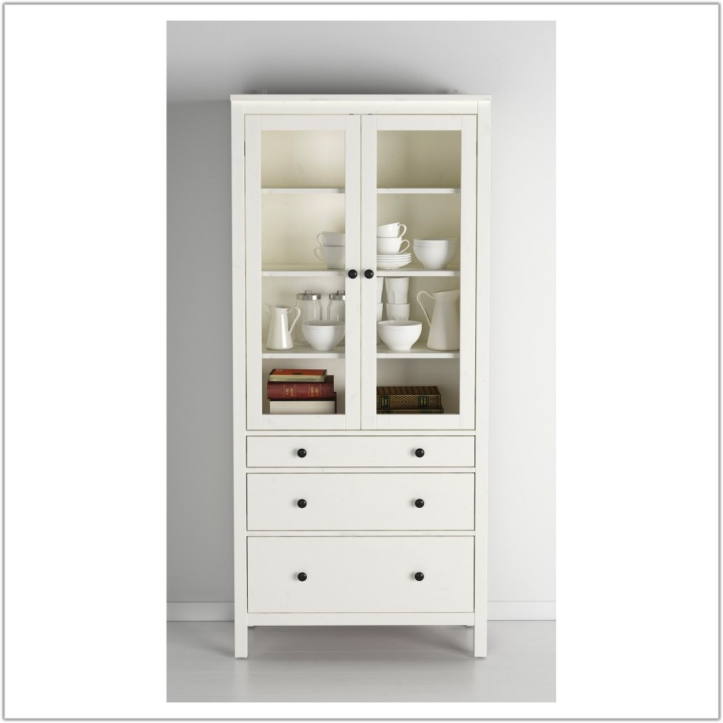 Ikea Glass Door Cabinet Hemnes