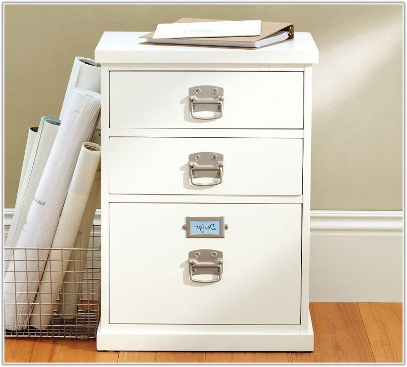 Ikea Hack File Cabinet Desk