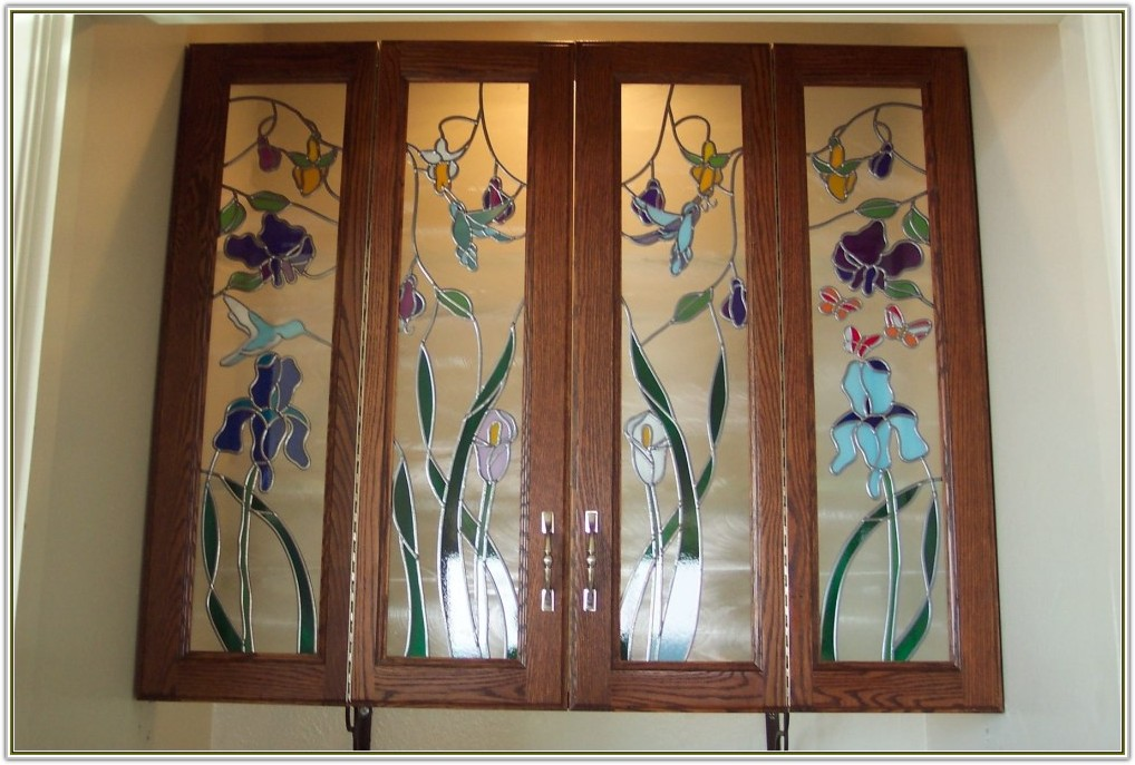 Insert Glass Into Kitchen Cabinet Doors