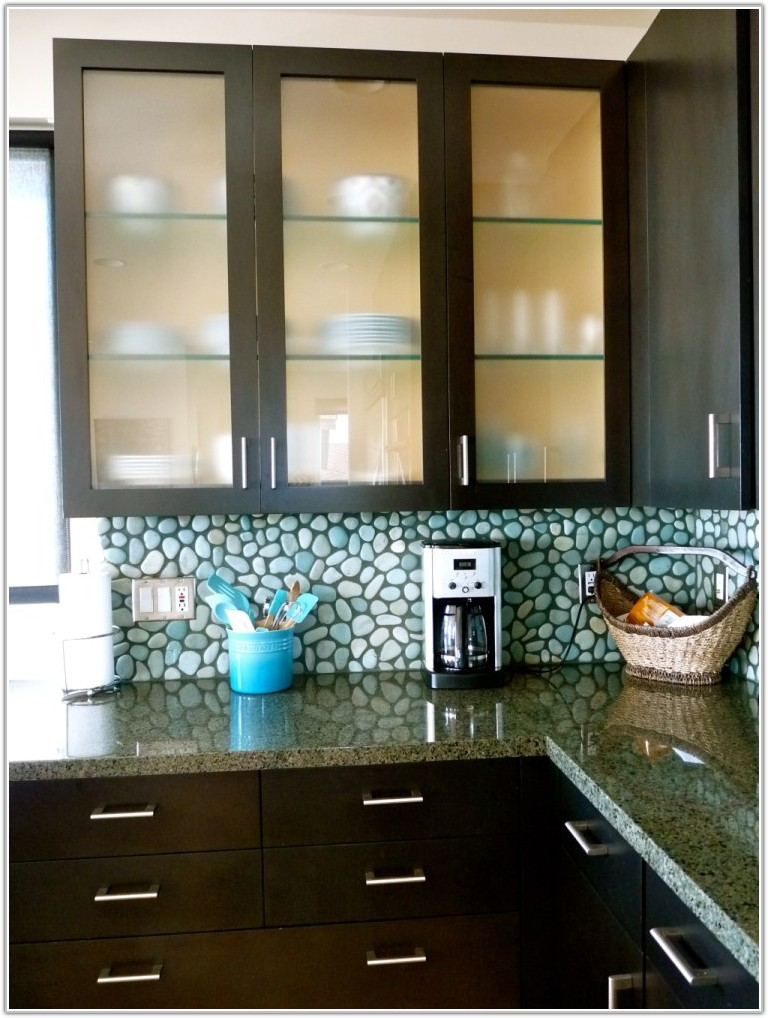 Kitchen Cabinet Glass Door Ideas