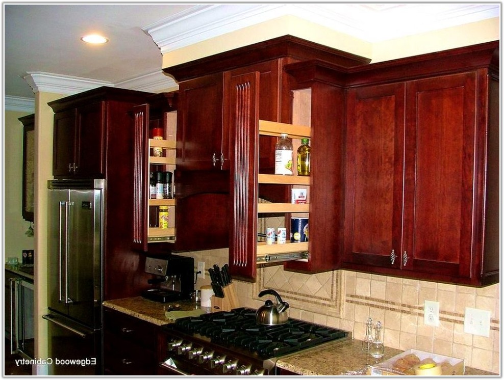 Kitchen Cabinet Pull Out Spice Racks