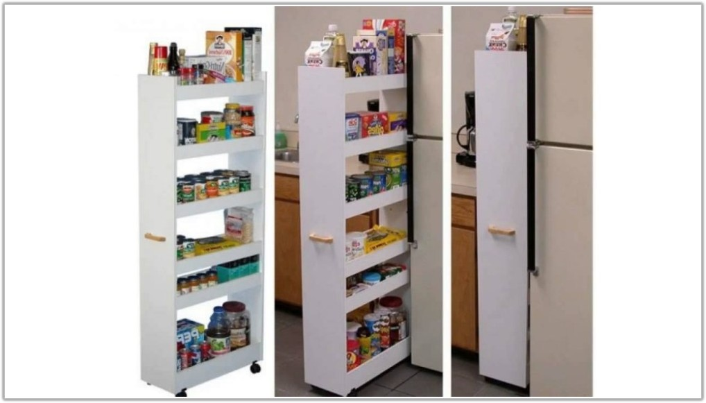 Kitchen Cabinet Pull Out Storage Shelves