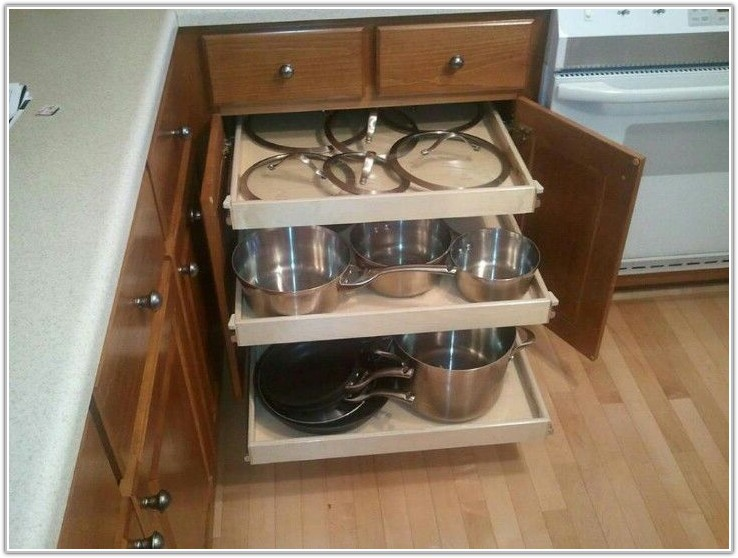Kitchen Cabinets Pull Out Shelf