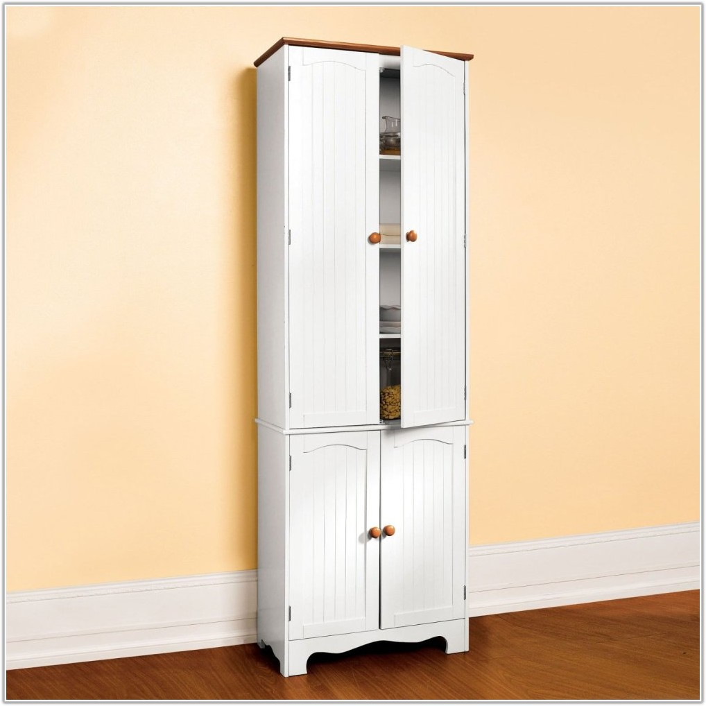 Kitchen Pantry Cabinet Antique White