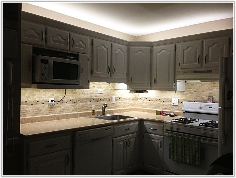 Led Strip Light Under Cabinet Kitchen