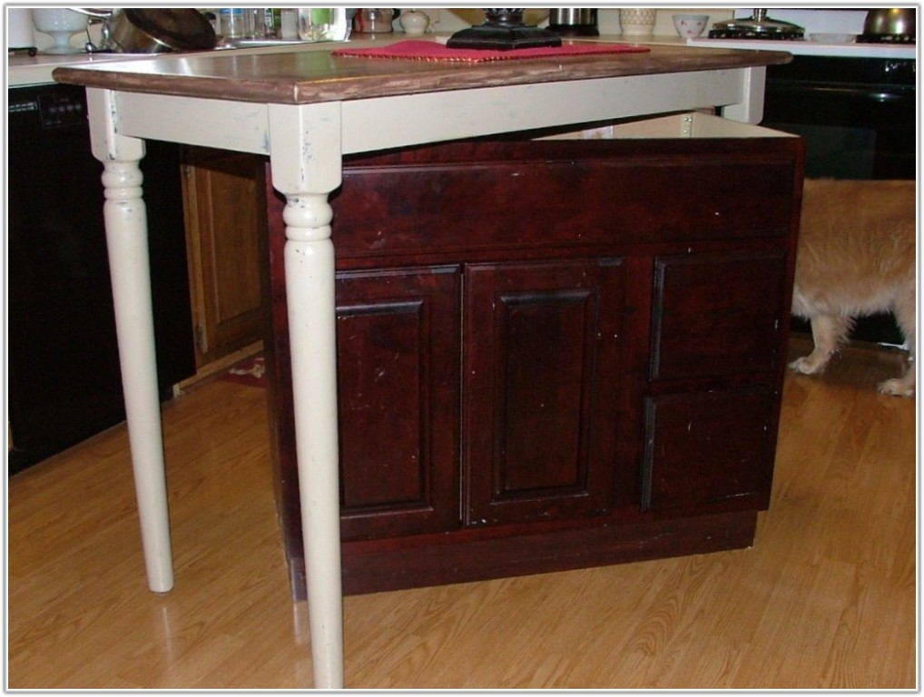 Make Kitchen Island Base Cabinets