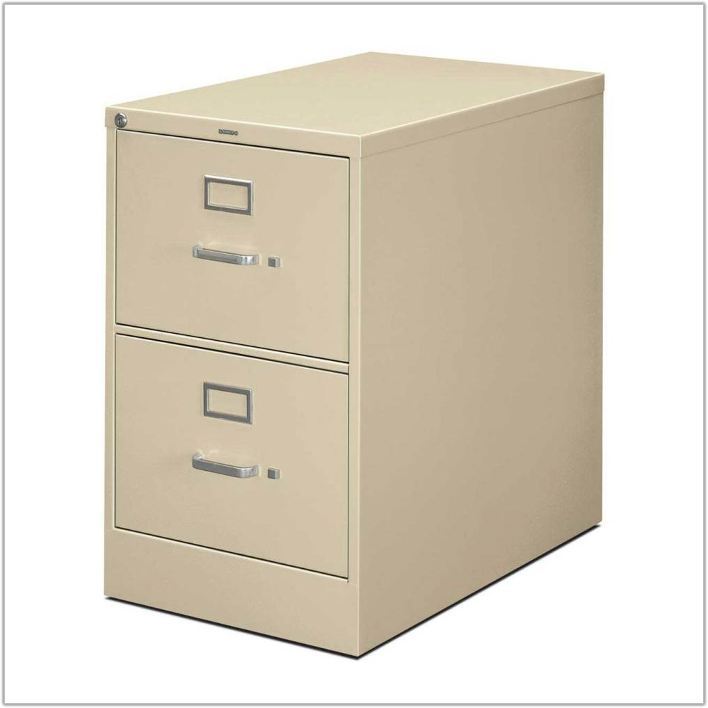 Metal File Cabinet 2 Drawer