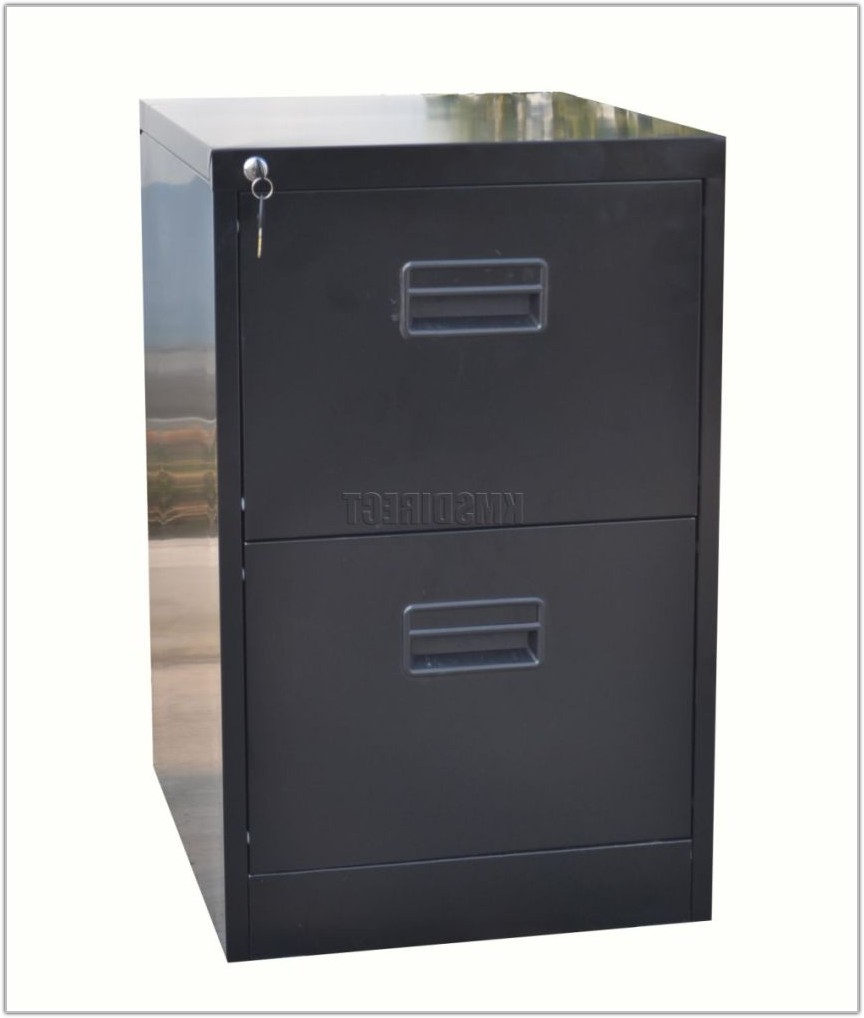 Metal Filing Cabinet 2 Drawer