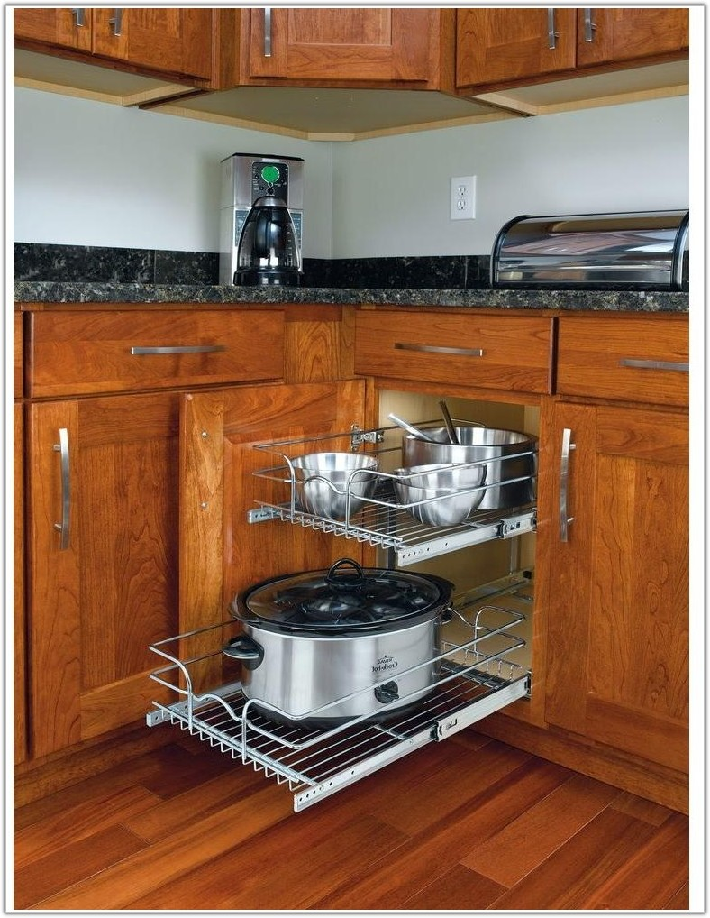 Metal Pull Out Kitchen Cabinet Shelves