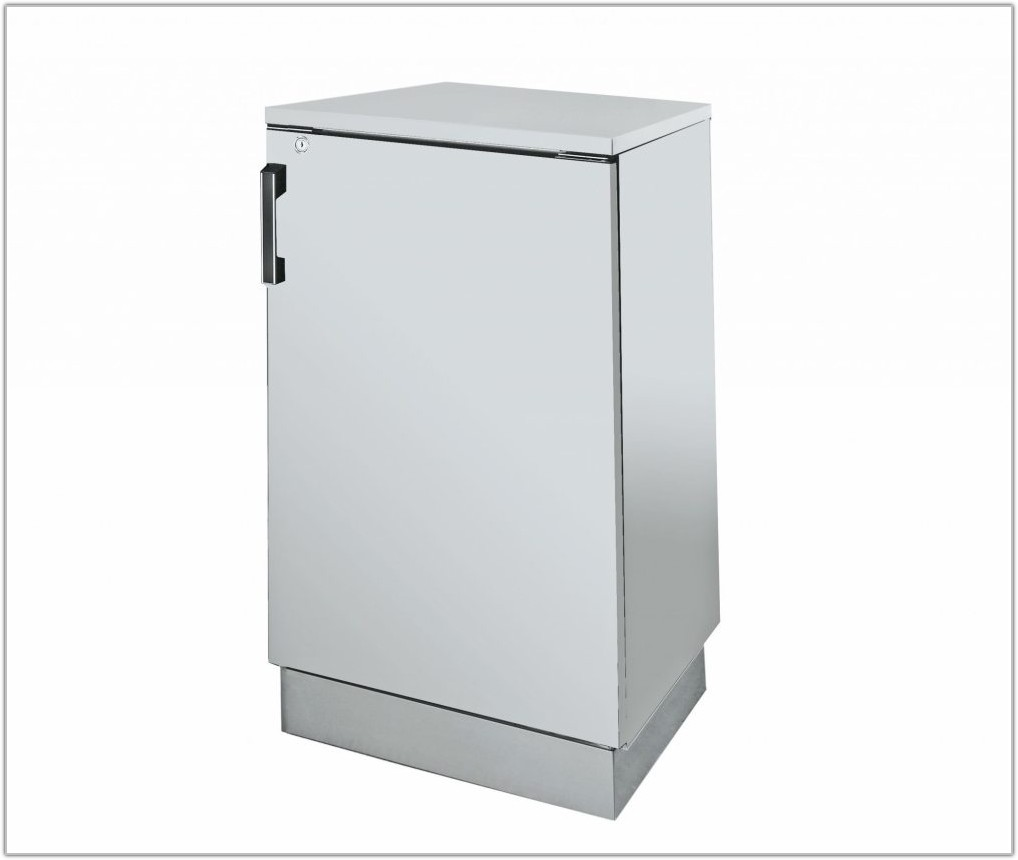 Metal Storage Cabinet With Locking Doors