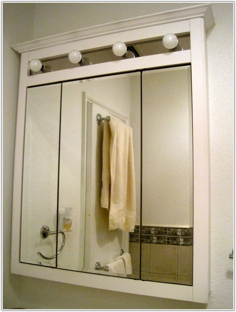 Mirror Medicine Cabinet With Lights