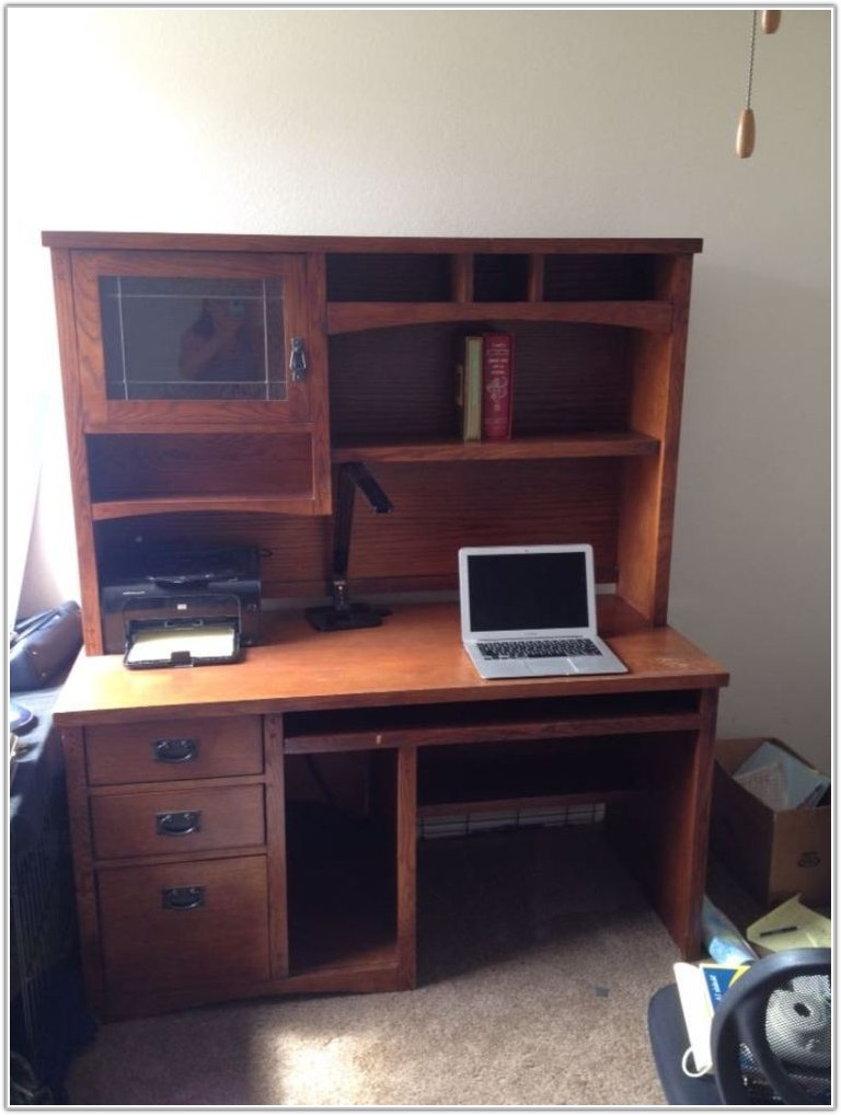 Mission Style Two Drawer File Cabinet