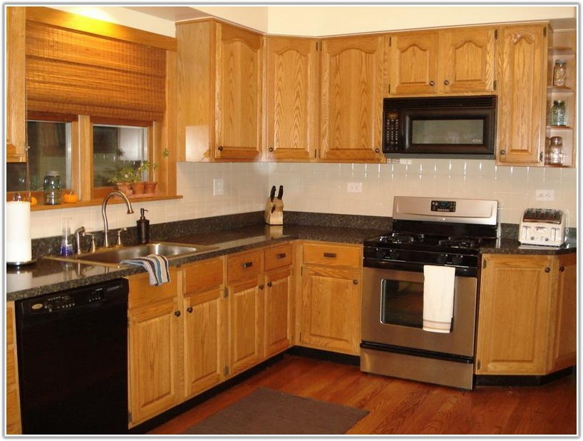 Oak Kitchen Cabinets Design Ideas