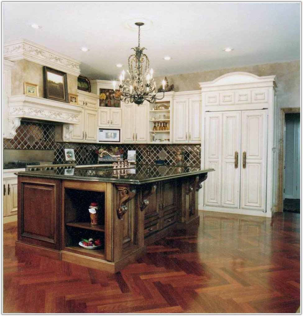 Old Country Style Kitchen Cabinets