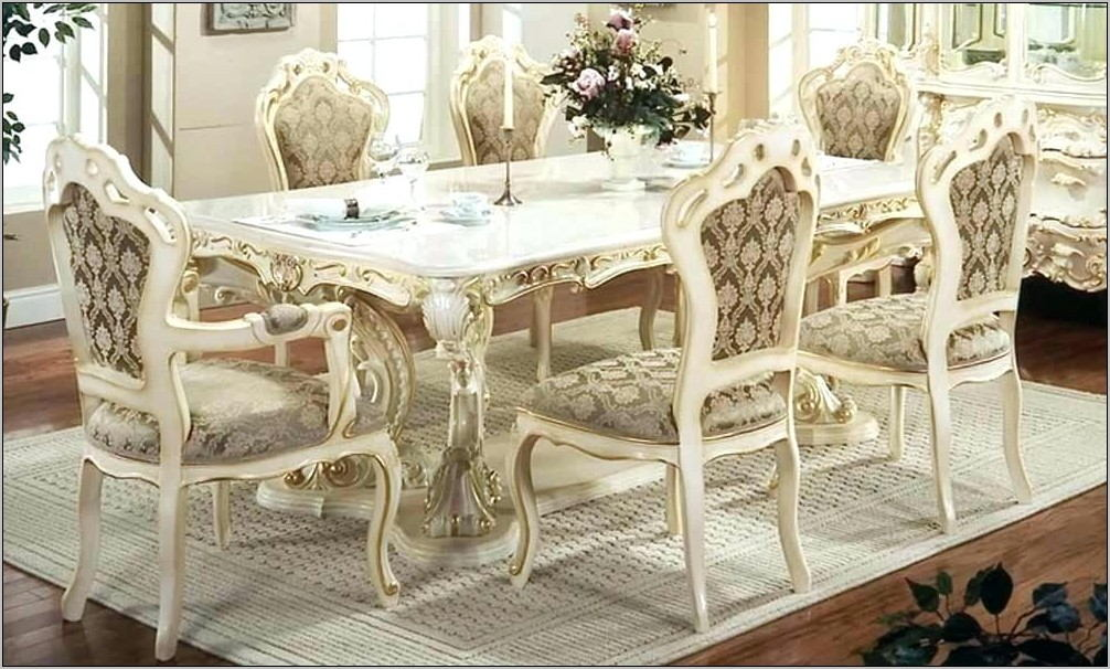 1960s French Provincial Dining Room Furniture