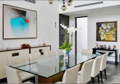 Modern Dining Room Centerpieces