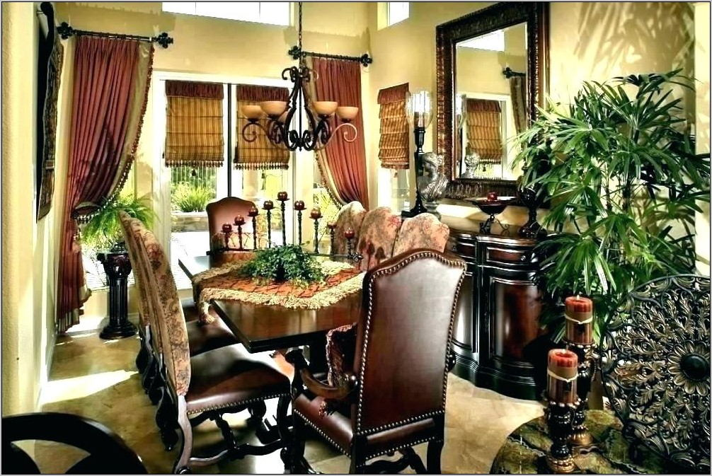 Tuscan Dining Room Set