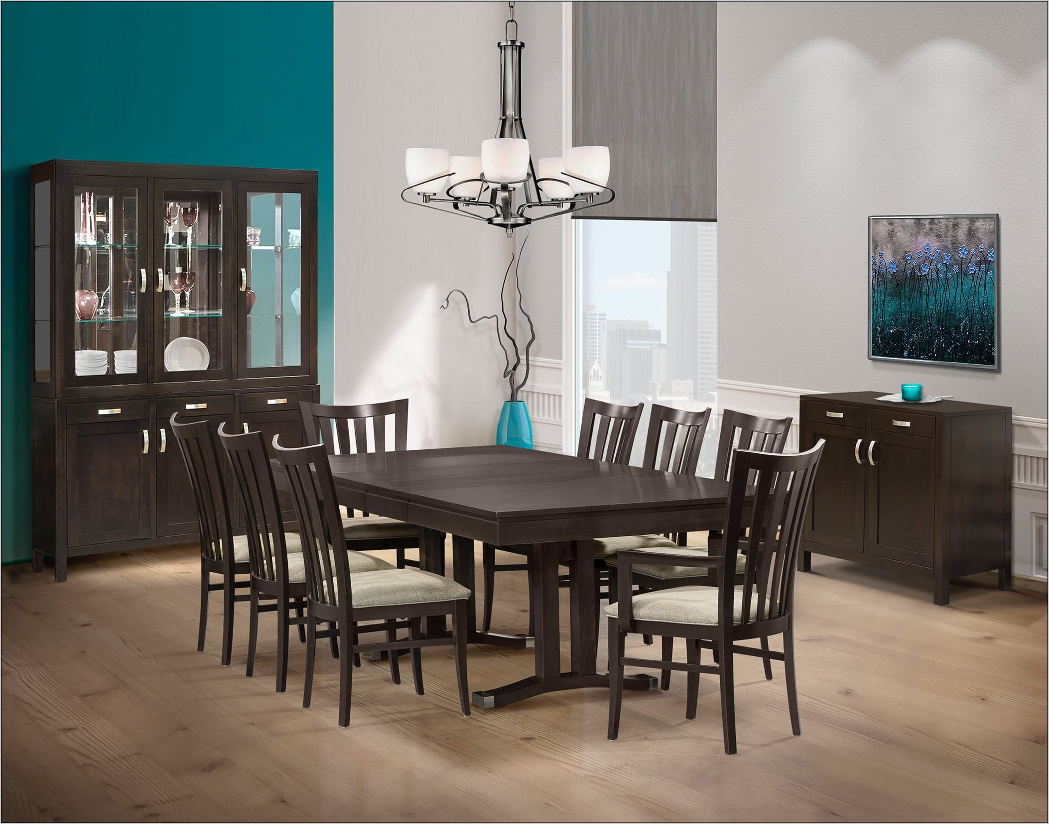 Valraven Dining Room Table Set