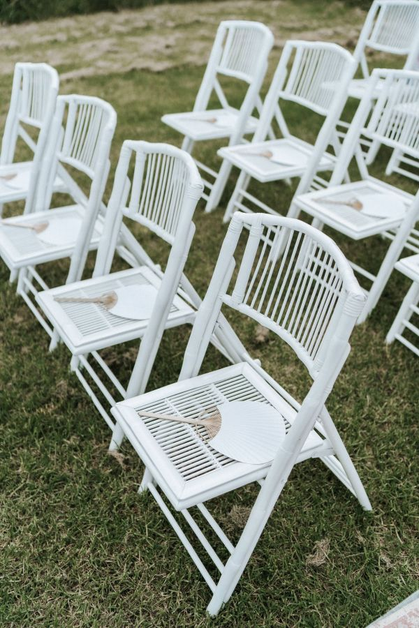 Bamboo chair hire