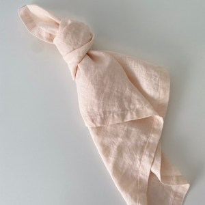Blush Linen Napkin, event Wedding hire Sydney