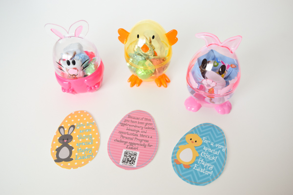 "Bunny & Chick Easter Tags Free Printable for Young Women, Youth, Primary, Kids, School, Etc.  ""You're Some-bunny Special"" and ""For a Special Chick"""