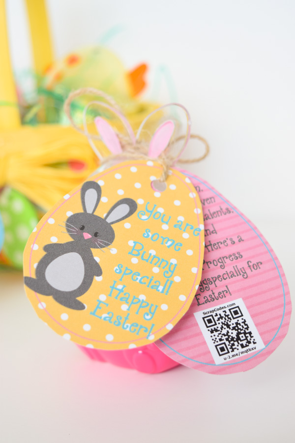 Relief society young women easter bunny chick egg tags with bunny chick easter tags free printable for young women youth primary kids negle Choice Image