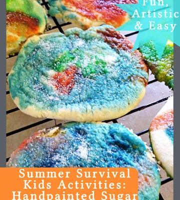 Handpainted Almond Sugar Cookies